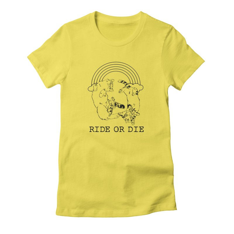 Ride or Die - BLACK Women's T-Shirt by EP Designs's Designs n Such