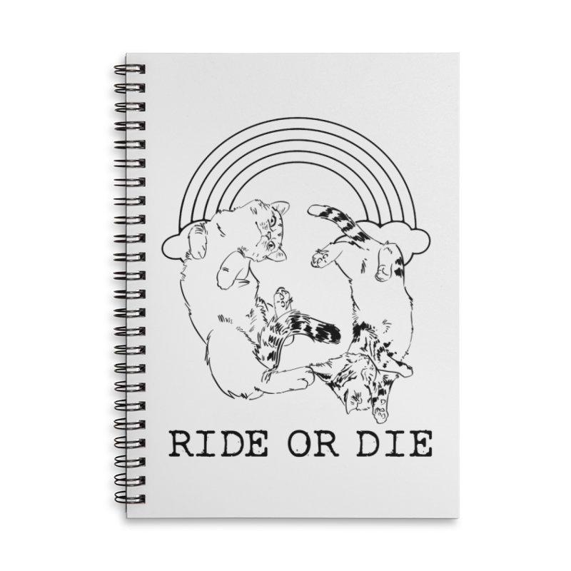 Ride or Die - BLACK Accessories Notebook by EP Designs's Designs n Such