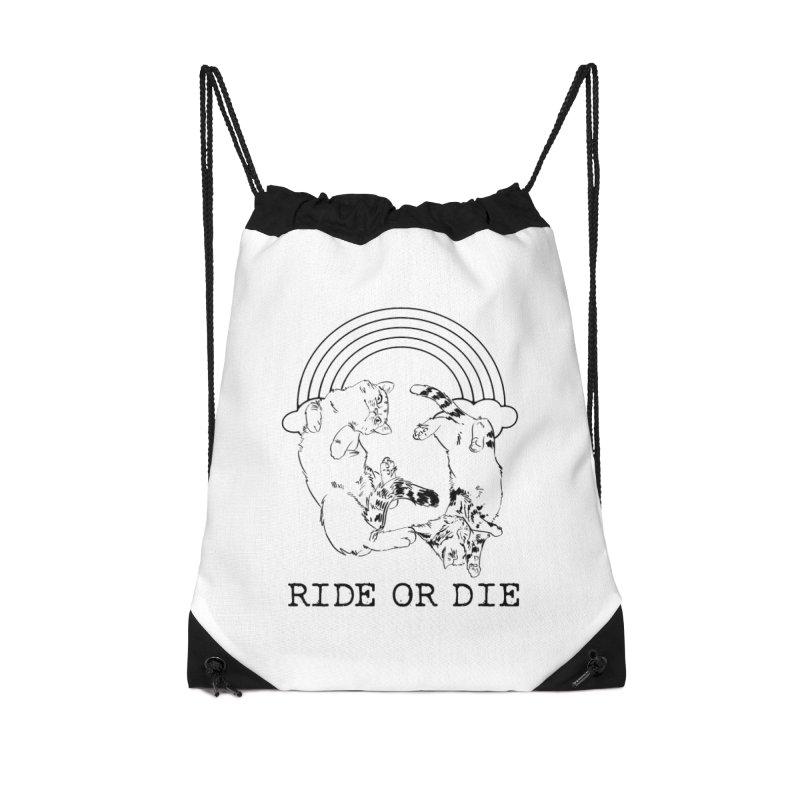 Ride or Die - BLACK Accessories Bag by EP Designs's Designs n Such