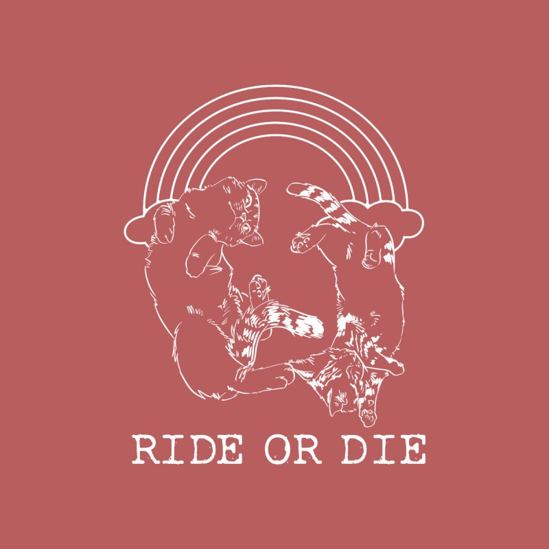 Ride or Die - WHITE Women's Tank by EP Designs's Designs n Such