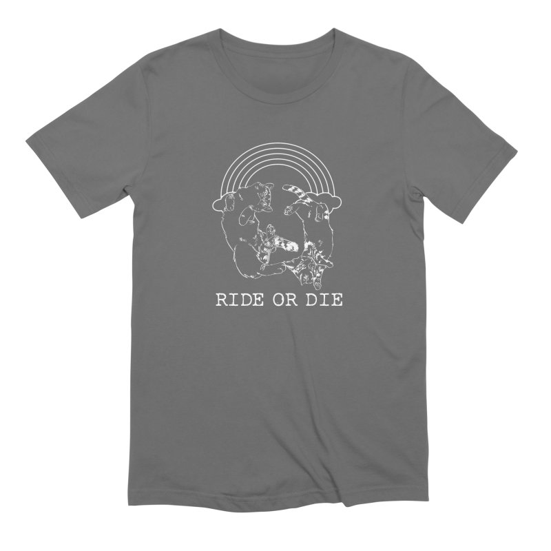 Ride or Die - WHITE Men's T-Shirt by EP Designs's Designs n Such