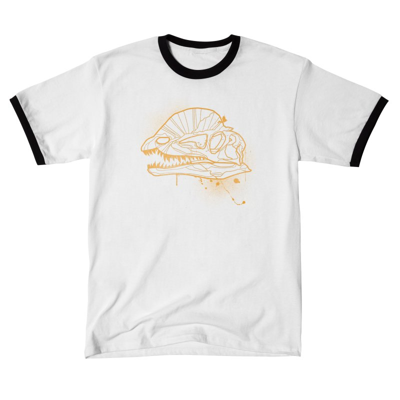 Dilo Skull - GOLD Men's T-Shirt by EP Designs's Designs n Such