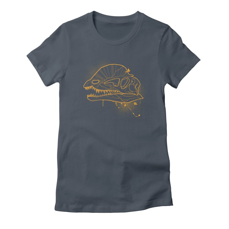 Dilo Skull - GOLD Women's T-Shirt by EP Designs's Designs n Such