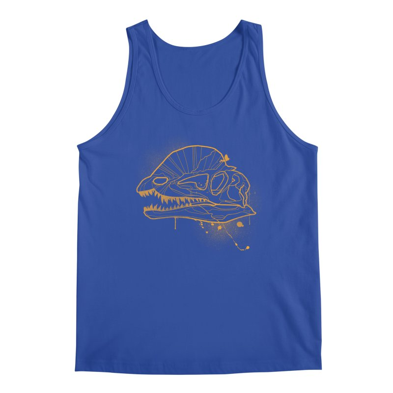 Dilo Skull - GOLD Men's Tank by EP Designs's Designs n Such