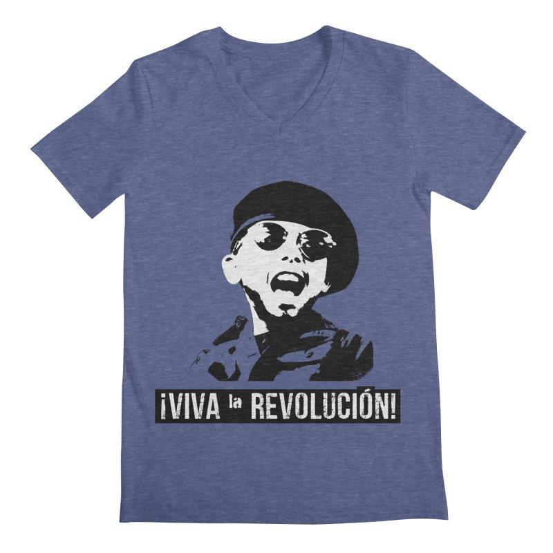 Viva la Revolución! Men's V-Neck by EP Designs's Designs n Such