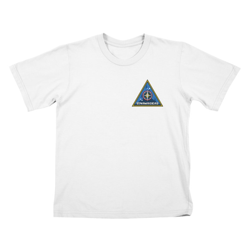 Stormriders Naval Fleet Patch Kids T-Shirt by EP Designs's Designs n Such