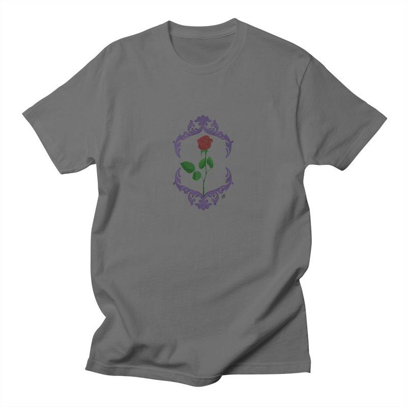 Rose Men's T-Shirt by estanisaboal's Artist Shop