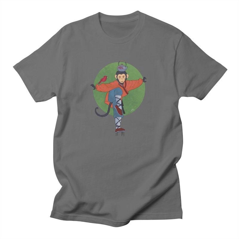 monkey Men's T-Shirt by estanisaboal's Artist Shop