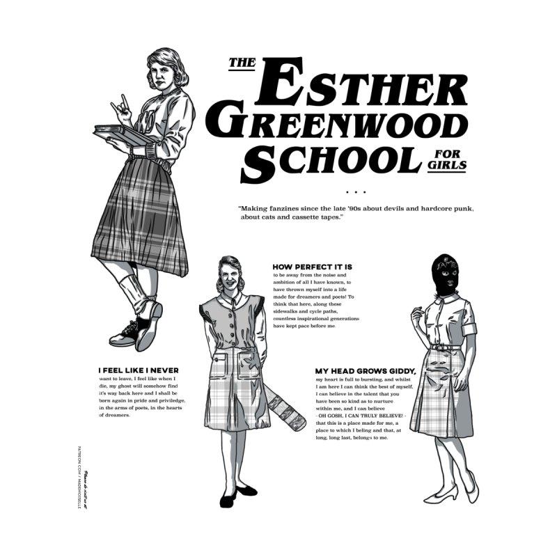 Esther Greenwood School for Girls Men's T-Shirt by Esther Greenwood School for Girls