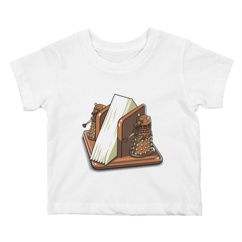 Salt and Pepper Kids Baby T-Shirt by EstivaShop