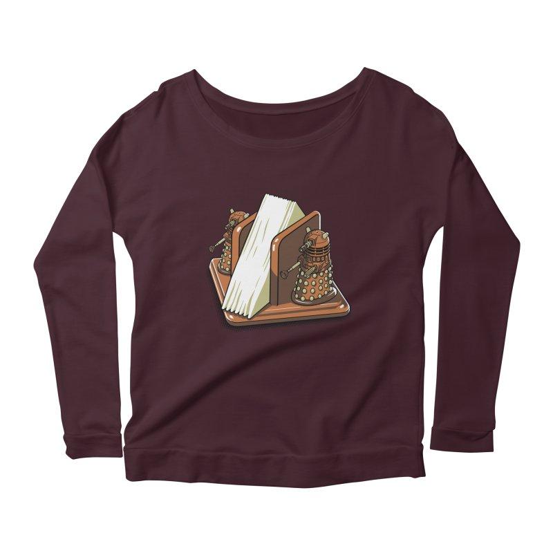 Salt and Pepper Women's Scoop Neck Longsleeve T-Shirt by EstivaShop