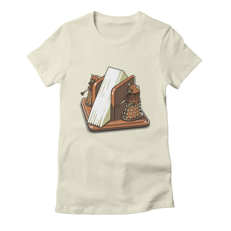 Salt and Pepper Women's Fitted T-Shirt by EstivaShop