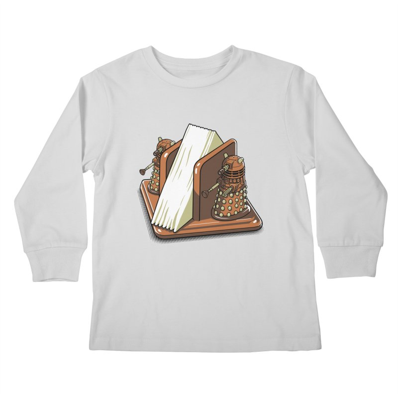 Salt and Pepper Kids Longsleeve T-Shirt by EstivaShop