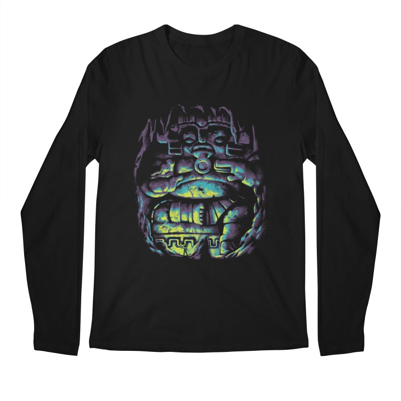 Secret Cave Men's Regular Longsleeve T-Shirt by EstivaShop