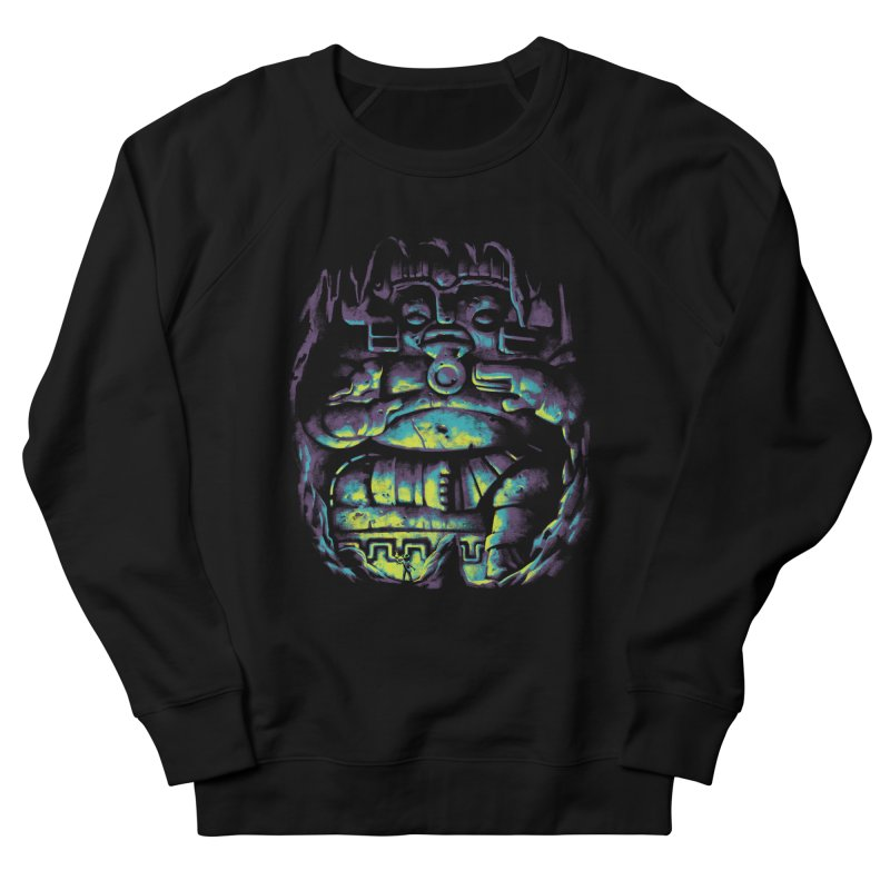 Secret Cave Men's French Terry Sweatshirt by EstivaShop