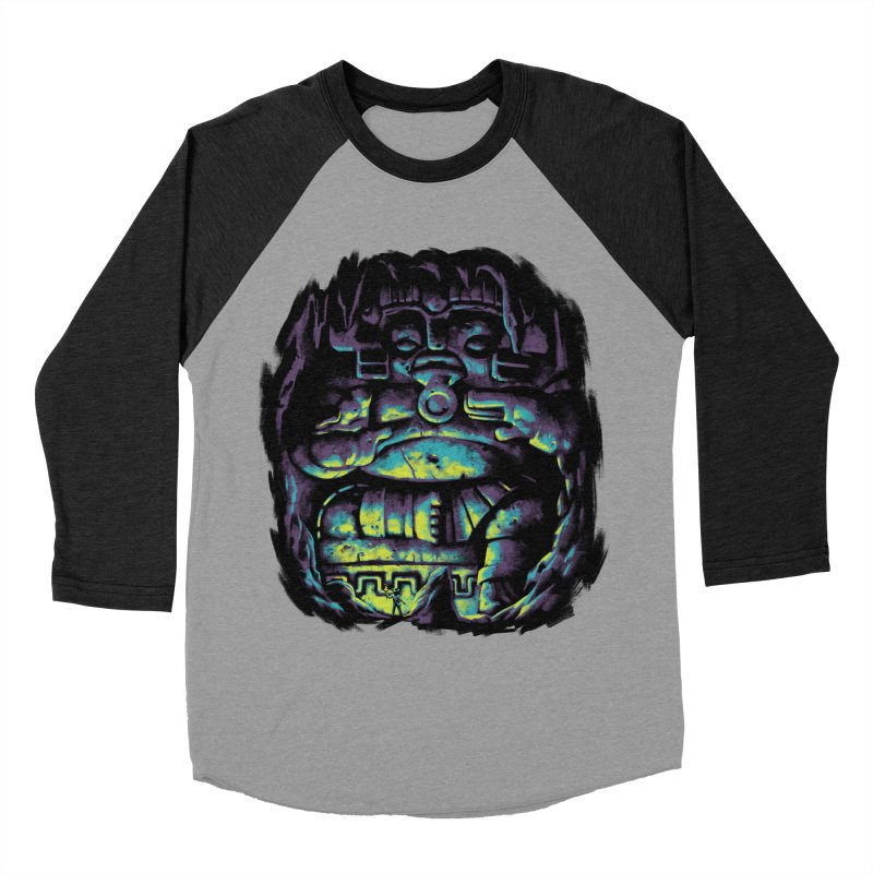 Secret Cave Men's Baseball Triblend Longsleeve T-Shirt by EstivaShop
