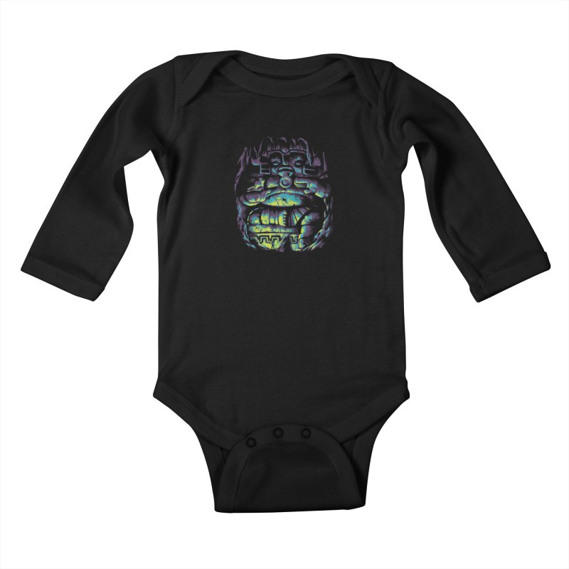 Secret Cave Kids Baby Longsleeve Bodysuit by EstivaShop