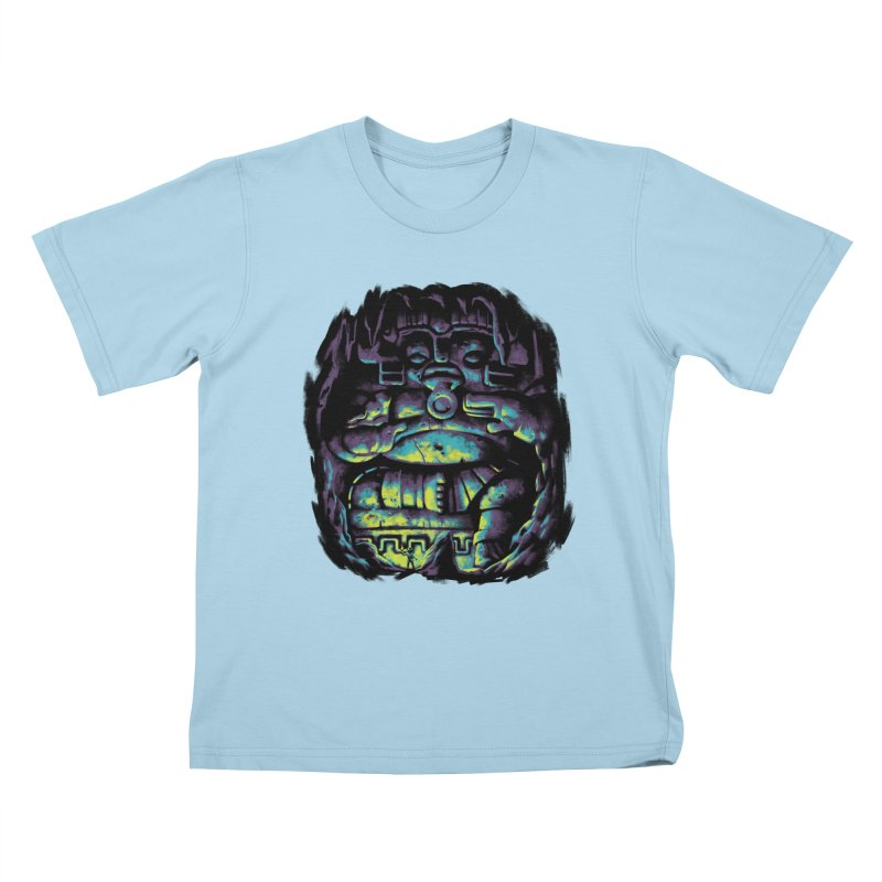 Secret Cave Kids T-Shirt by EstivaShop