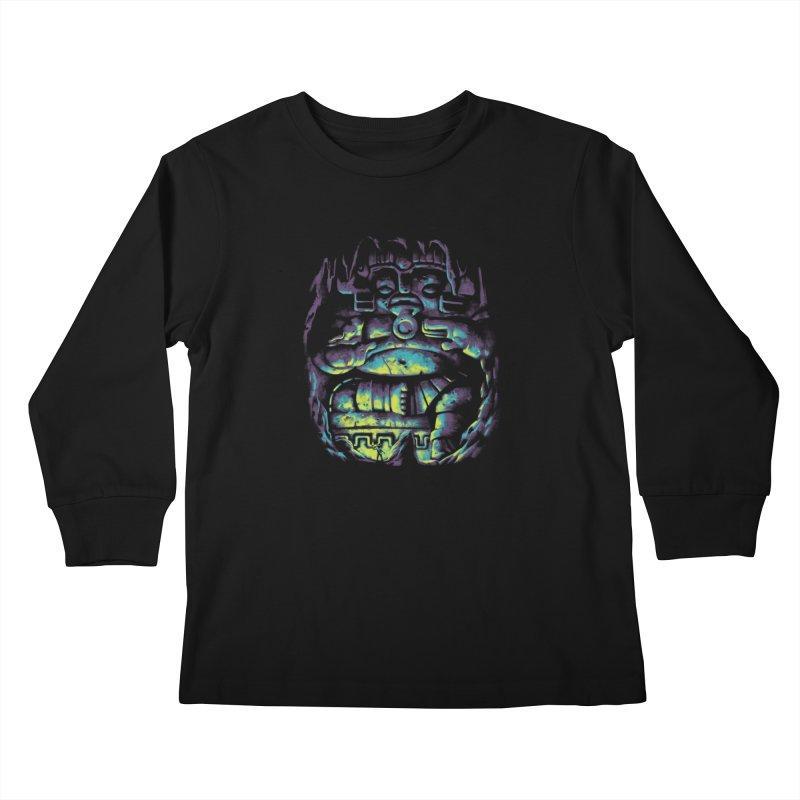 Secret Cave Kids Longsleeve T-Shirt by EstivaShop
