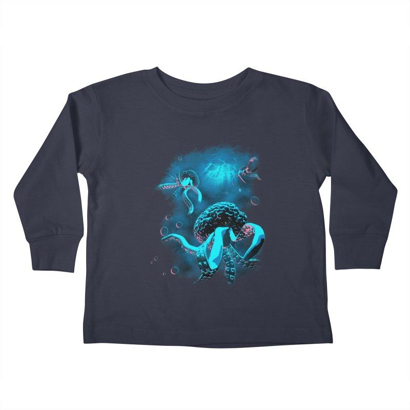 Toward the Heart Kids Toddler Longsleeve T-Shirt by EstivaShop