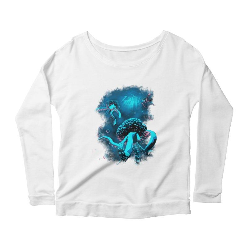Toward the Heart Women's Scoop Neck Longsleeve T-Shirt by EstivaShop
