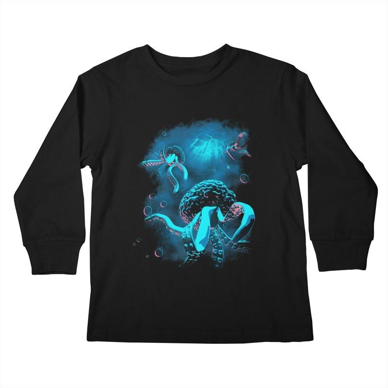 Toward the Heart Kids Longsleeve T-Shirt by EstivaShop