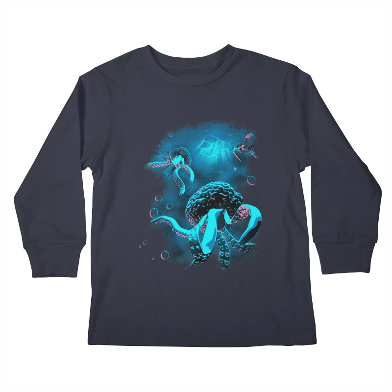 Toward the Heart Kids Longsleeve T-Shirt by EstivaShop
