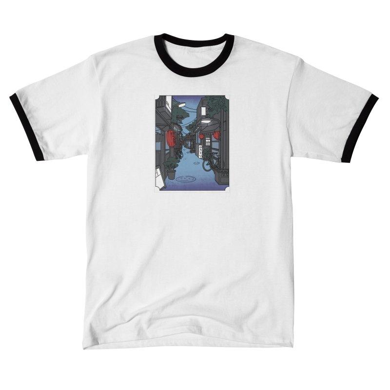 Streetlights and Lanterns (Digital Design) Women's T-Shirt by Emily's Artist Shop (all profits to organizations)