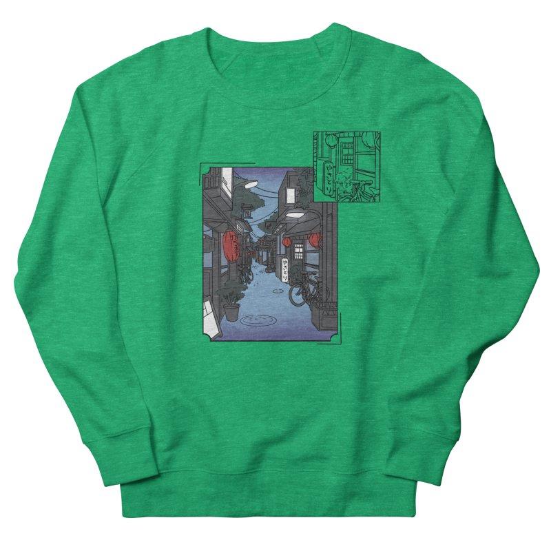 Streetlights and Lanterns (Digital Snapshot Design Light Tee) Women's Sweatshirt by Emily's Artist Shop (all profits to organizations)
