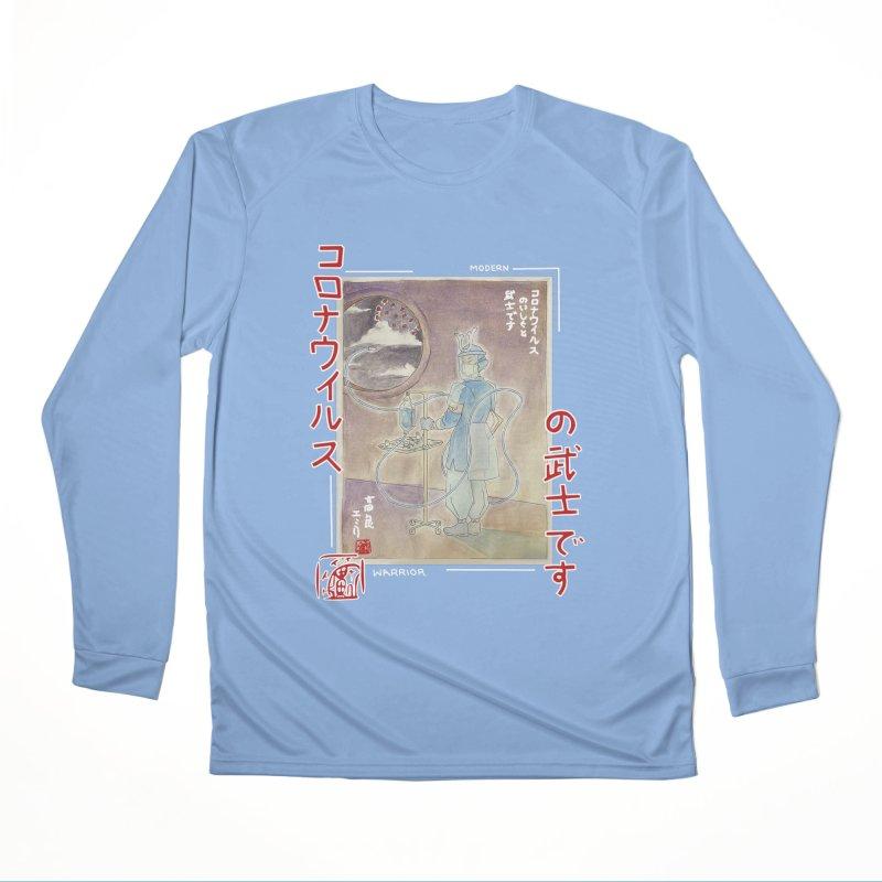 Modern Warrior Men's Longsleeve T-Shirt by Emily's Artist Shop (all profits to organizations)