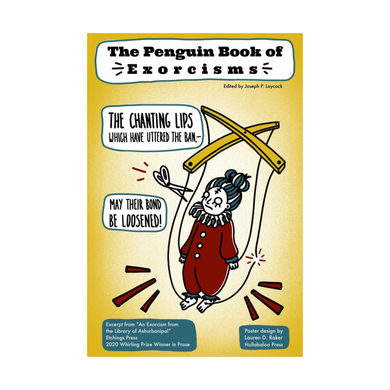 2020 Whirling Prize: The Penguin Book of Exorcisms - Joseph P Laycock Home Fine Art Print by Etchings Press Mercantile