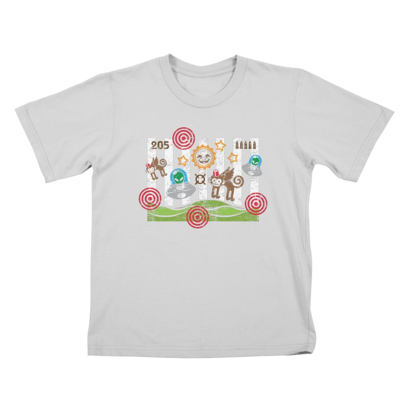 First-Person Shooter Kids T-Shirt by etherbrian's ethertees