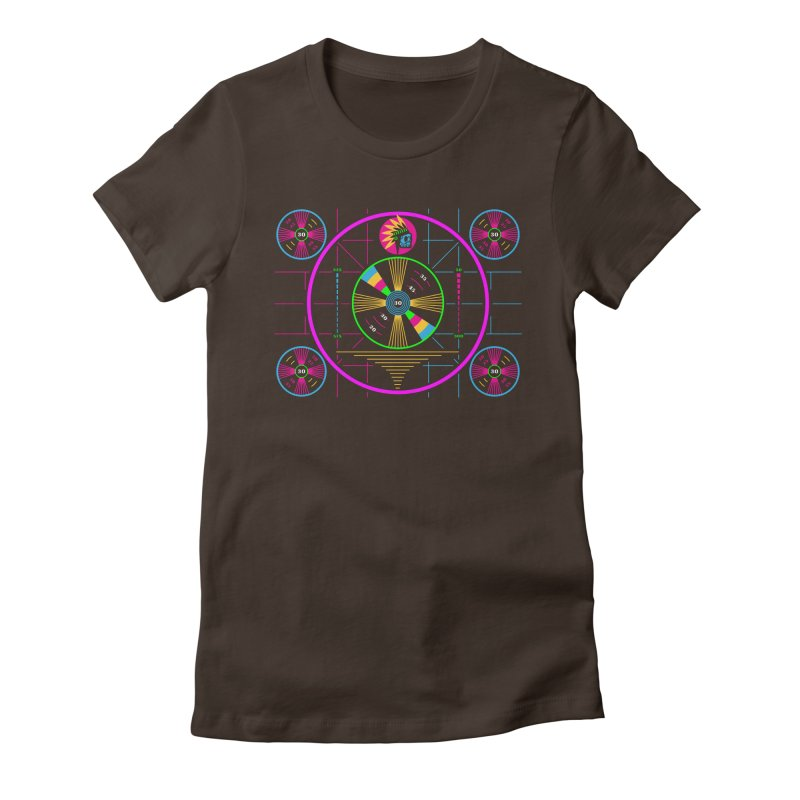 Please Stand By Women's Fitted T-Shirt by etherbrian's ethertees