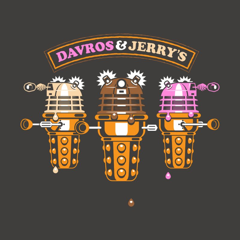 Davros & Jerry's None  by etherbrian's ethertees