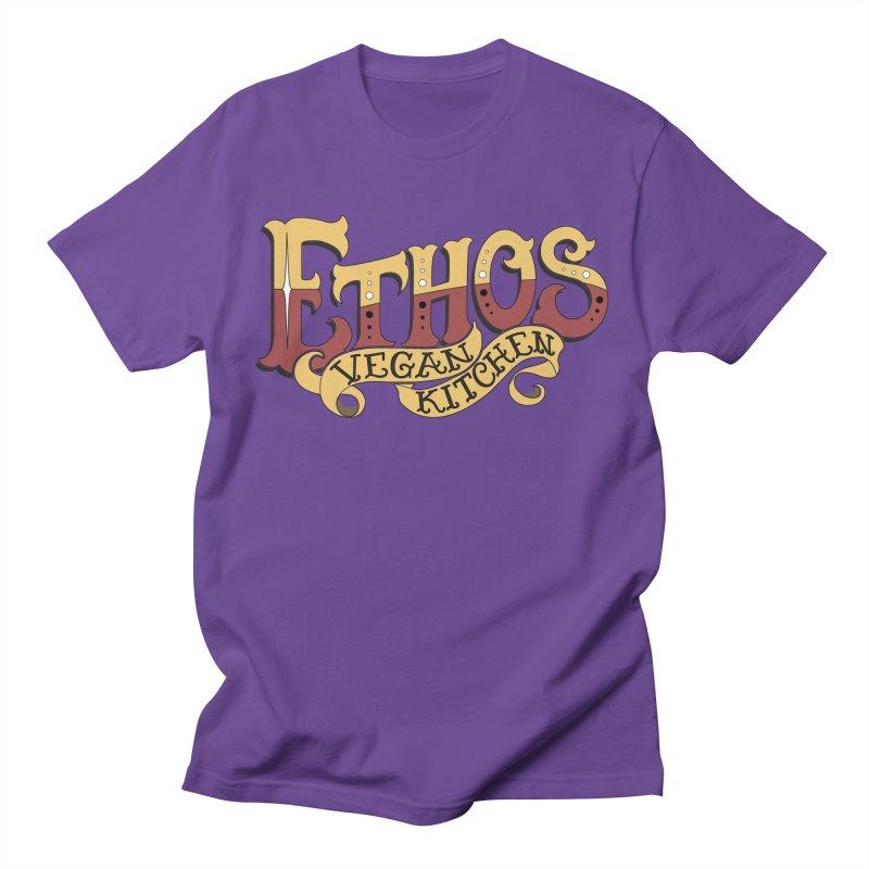 Ethos Logo Men's T-Shirt by Ethos Vegan Kitchen's Logo Shop