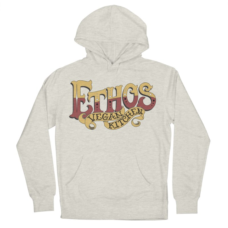 Ethos Logo Women's Pullover Hoody by Ethos Vegan Kitchen's Logo Shop