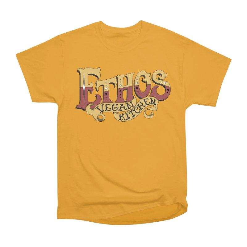 Ethos Logo Women's Classic Unisex T-Shirt by Ethos Vegan Kitchen's Logo Shop