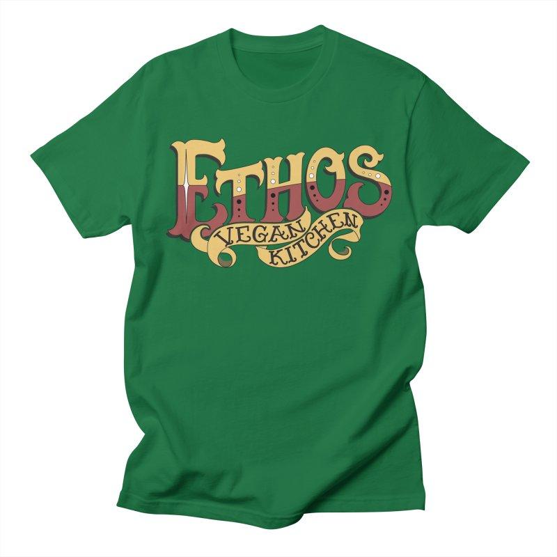Ethos Logo Women's Regular Unisex T-Shirt by Ethos Vegan Kitchen's Logo Shop