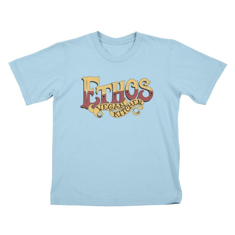 Ethos Logo Kids T-Shirt by Ethos Vegan Kitchen's Logo Shop