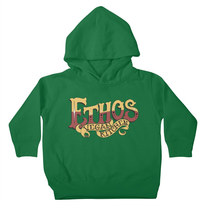 Ethos Logo Kids Toddler Pullover Hoody by Ethos Vegan Kitchen's Logo Shop