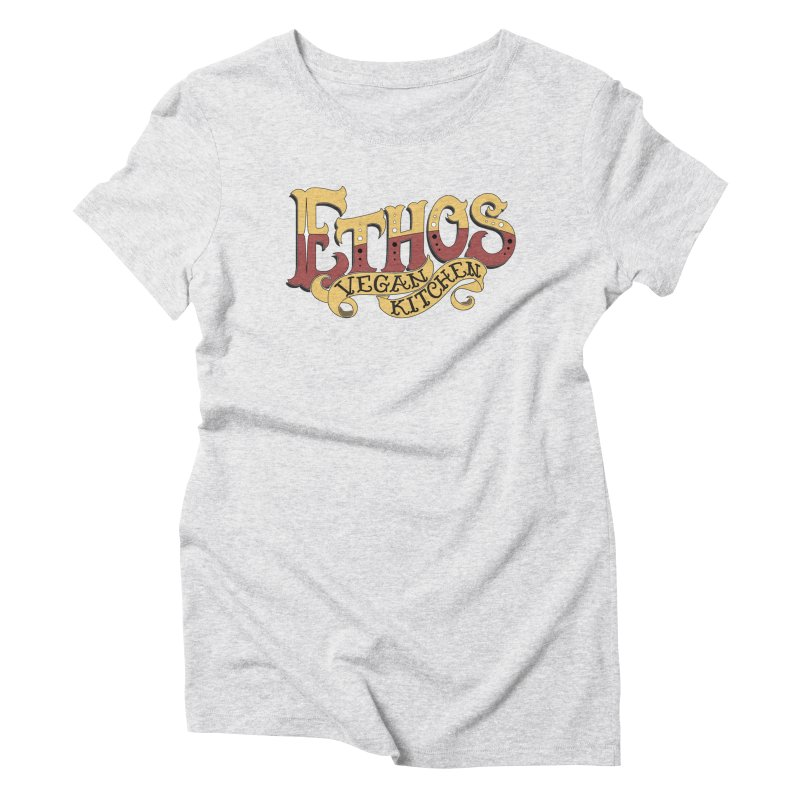 Ethos Logo Women's Triblend T-Shirt by Ethos Vegan Kitchen's Logo Shop