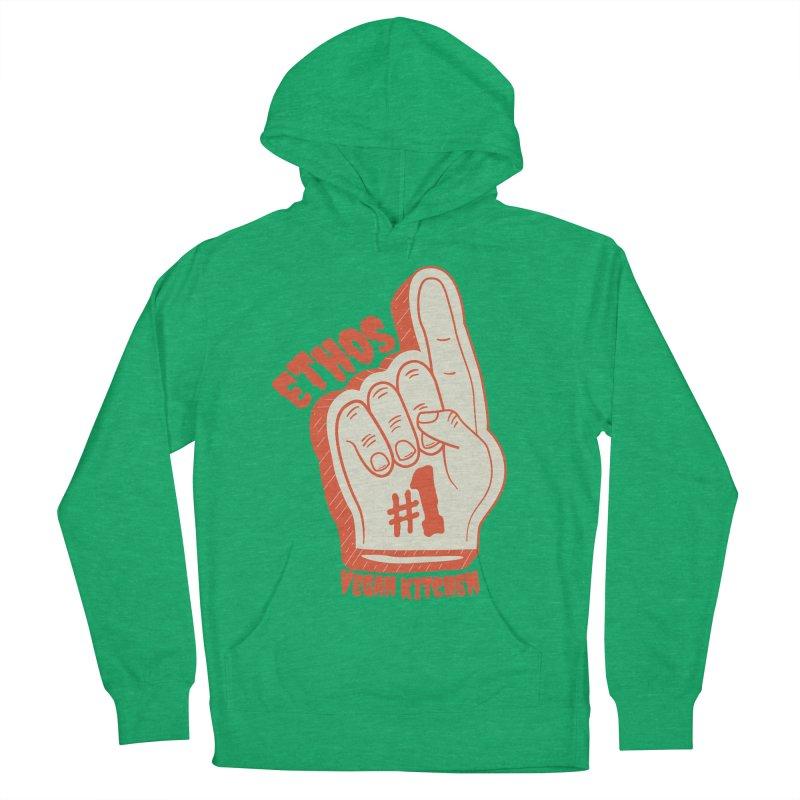 Number 1! Women's Pullover Hoody by Ethos Vegan Kitchen's Logo Shop
