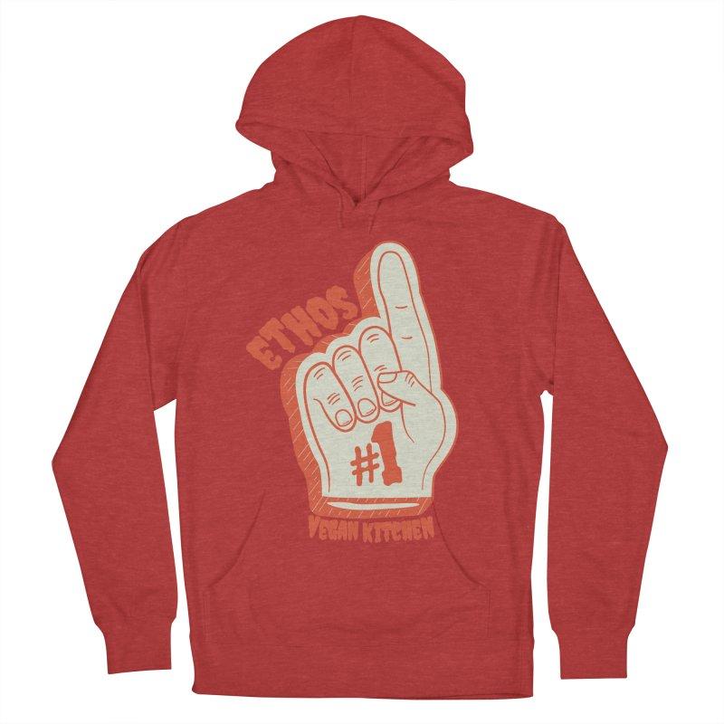 Number 1! Men's Pullover Hoody by Ethos Vegan Kitchen's Logo Shop