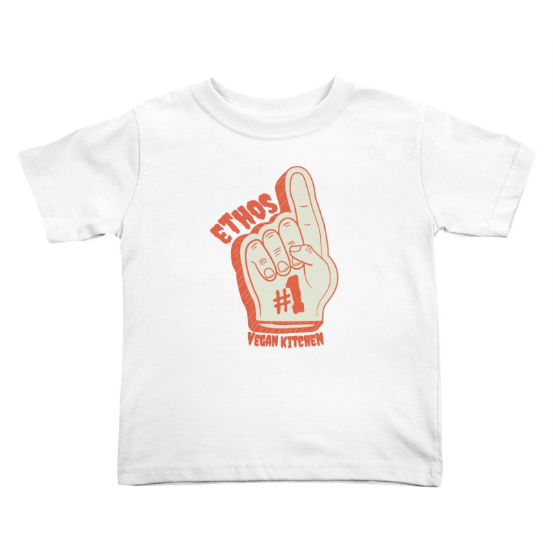 Number 1! Kids Toddler T-Shirt by Ethos Vegan Kitchen's Logo Shop