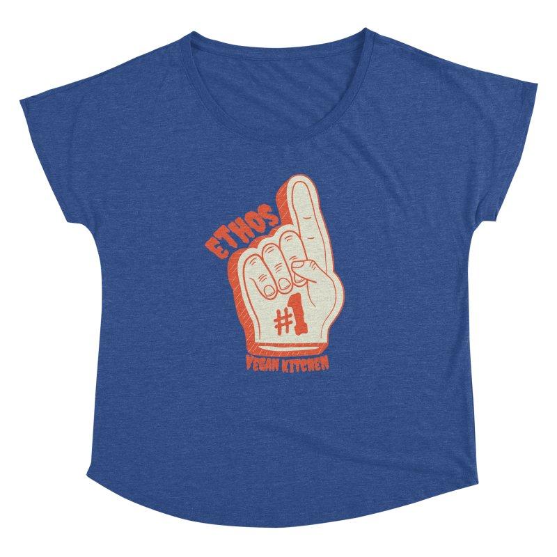 Number 1! Women's Dolman by Ethos Vegan Kitchen's Logo Shop
