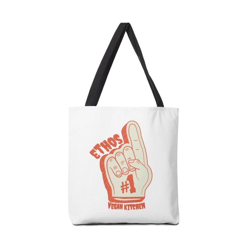 Number 1! Accessories Bag by Ethos Vegan Kitchen's Logo Shop