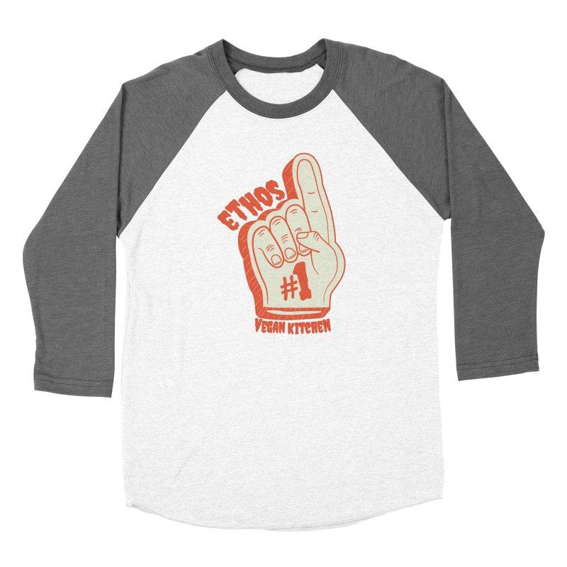 Number 1! Women's Longsleeve T-Shirt by Ethos Vegan Kitchen's Logo Shop