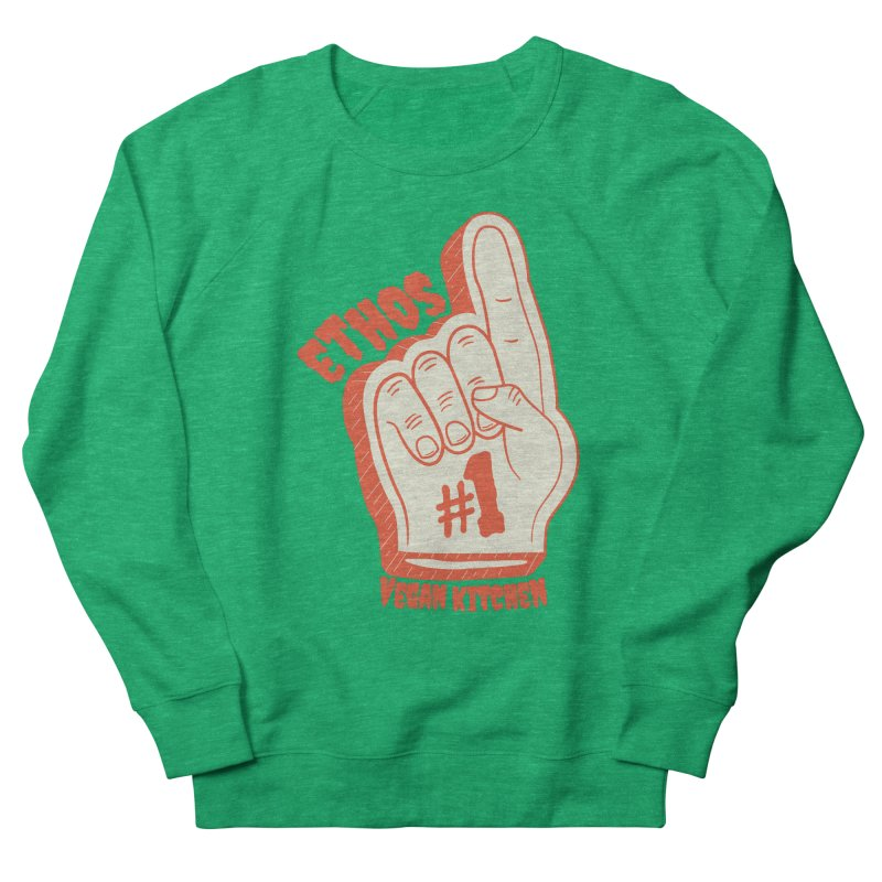Number 1! Women's Sweatshirt by Ethos Vegan Kitchen's Logo Shop