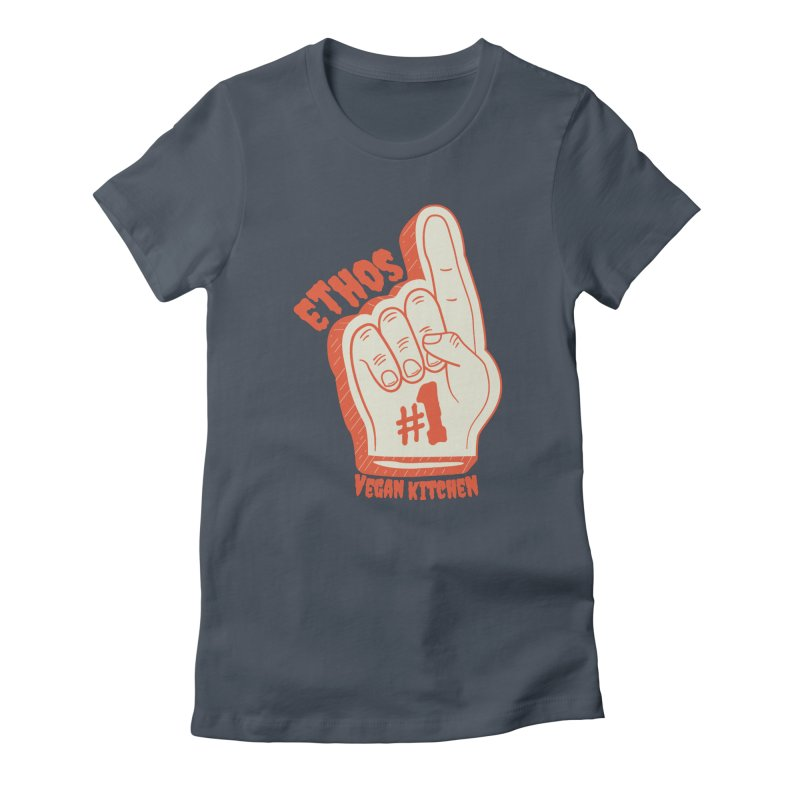 Number 1! Women's T-Shirt by Ethos Vegan Kitchen's Logo Shop