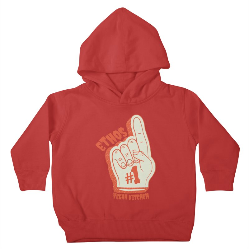 Number 1! Kids Toddler Pullover Hoody by Ethos Vegan Kitchen's Logo Shop
